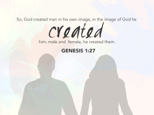 In the image of God he created them...
