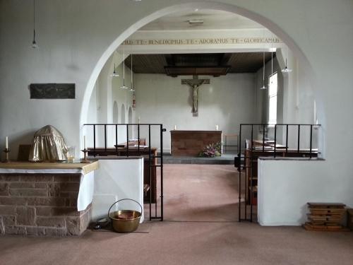 Glasshampton Monastery chapel